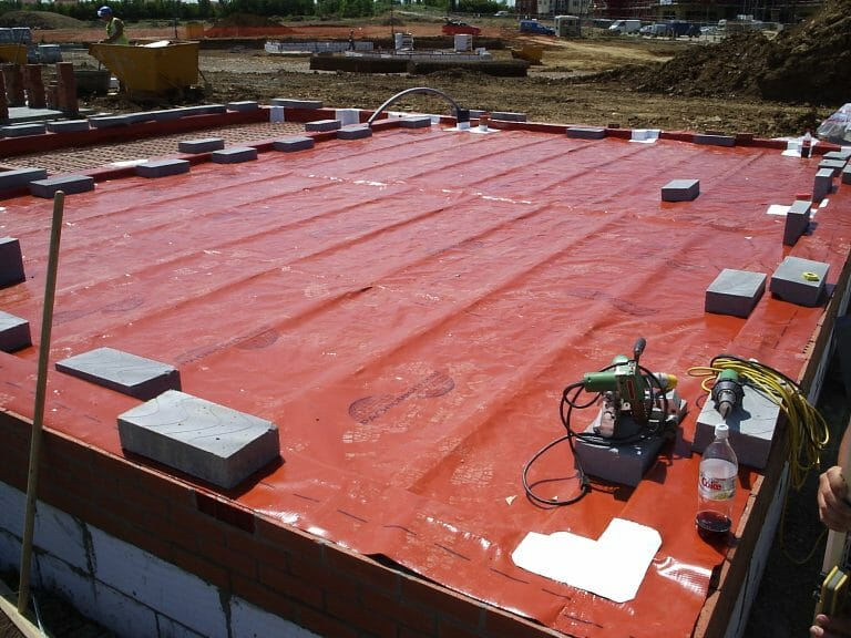 PAG standard ground gas protection membrane