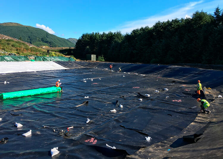 geomembranes for landfill